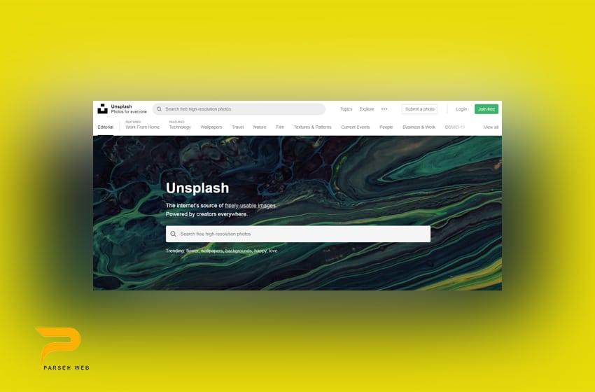 سایت Unsplash | دانلود تصاویر رایگان و با کیفیت