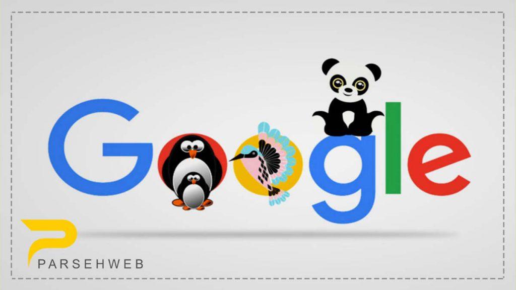 الگوریتم های گوگل 2